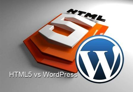 HTML5 to Wordpress