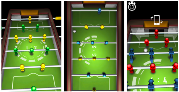 Foosball Game by White Collar Games