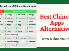 Best Chinese Apps Alternatives to Remove China Apps