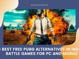 5 Best Free PUBG alternatives in India- Battle Games for PC and Mobile